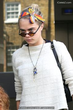 Cara Delevingne Out and about in London http://www.icelebz.com/events/cara_delevingne_out_and_about_in_london/photo2.html