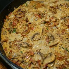 Paella, Bacon, Cooking Recipes, Health, Ethnic Recipes, Desserts, Cookies, Denmark, Mushroom