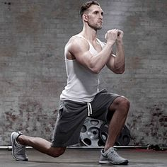The Only 8 Moves You Need to Be Fit squat, walking lunge, push-up, row, overhead press, pull up and chin up, kettle bell swing, deadliest