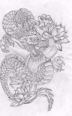 Tattoo Drawings- Tattoos Top 30 Stunning And Realistic Dragon Drawings – Masht. - Tattoo Drawings- Tattoos Top 30 Stunning And Realistic Dragon Drawings – Mashtrelo - - Dragon Tattoo Drawing, Dragon Thigh Tattoo, Dragon Tattoo For Women, Dragon Sleeve Tattoos, Japanese Dragon Tattoos, Japanese Sleeve Tattoos, Dragon Tattoo Designs, Sleeve Tattoos For Women, Tattoo Drawings