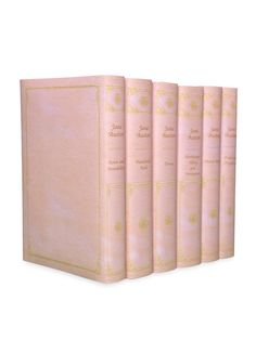 Pink Jane Austen Set (Set of 6) by Juniper Books