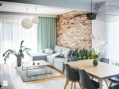 Urban Industrial Decor Tips From The Pros Have you been thinking about making changes to your home? Are you looking at hiring an interior designer to help you? House Design, Living Dining Room, Home And Living, Interior Design, House Interior, Home Living Room, Apartment Decor, Apartment Design, Home Decor