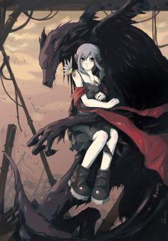 Anime Red Riding Hood