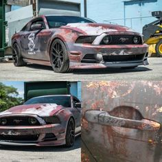 Even though its a shit stang it looks cool so yeah