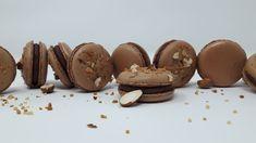 Macarons Chocolat au lait et Noisettes - Les desserts de Julien