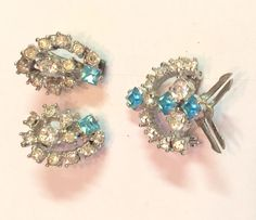 Sold   A personal favorite from my Etsy shop https://www.etsy.com/listing/226234903/signed-vintage-iskin-rhinestone-pin-and
