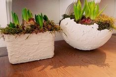 Crafts with wall filler of the action ~ Crafts in the Kitchen Action, Woodworking Crafts, Spring, Kitchen Decor, Kitchen Ideas, Planter Pots, Plants, Vader, Halloween