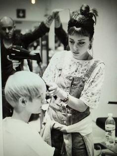 @Angela Fiorella Art Director At Work!!!  #work #Fashion #Hairstylist #GpParrucchieri #Model