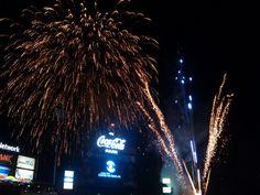 Coca cola park fireworks