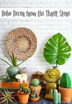 Boho decor is such a fun and exotic way to furnish your home these days, but it doesn
