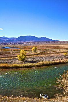 The Sotar on a pretty bend.  Green River, Utah