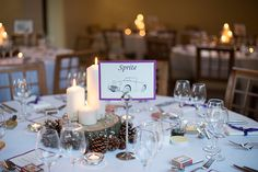 Helen and Inayat's real life wedding at Dodmoor House - Table decorations | CHWV