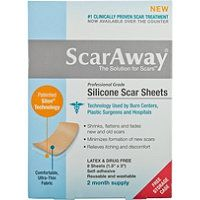 Garnier - Silicone Scar Treatment Sheets 8 Ct #ultabeauty