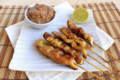 Ricette thailandesi Satay di pollo