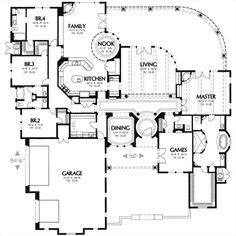 Optional Dream Home Love this plan as is!