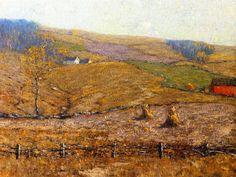 The Athenaeum - A New England Farm (Bruce Crane - )