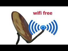 Smoking wifi waves using free internet in a satellite dish made well Outdoor Tv Antenna, Best Wifi, Diy Generator, Electrical Projects, Satellite Dish, Wifi Antenna, Digital Tv, Wifi Router, Creative Video