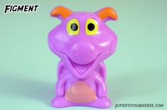 Disney Wikkeez Figment #disney #wikkeez #disneywikkeez #collectables #minifigures #toys #toyphotography