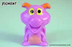 Disney Wikkeez Figment #disney #wikkeez #disneywikkeez #collectables #minifigures #toys #toyphotography
