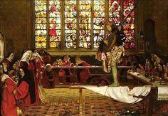 How the Devil, Disguised by Frank Cadogan Cowper :: artmagick.com