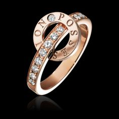 Discover Possession ring in rose gold, diamond on Piaget US online jewelry store - G34PV600 Piaget luxury ring
