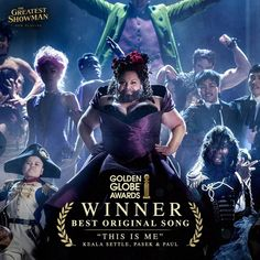 """82.9 mil Me gusta, 2,145 comentarios - The Greatest Showman (@greatestshowman) en Instagram: """"""""This Is Me"""" wins the Golden Globe for Best Original Song! Congratulations to @KealaSettle, and…"""""""