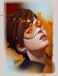 ArtStation - Tracer, Peter Xiao