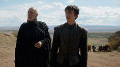 Three-Eyed Raven and Bran