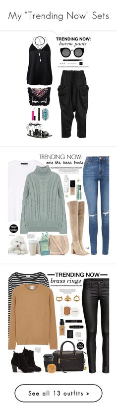 """""""My """"Trending Now"""" Sets"""" by palmtreesandpompoms ❤ liked on Polyvore featuring Lost & Found, Witchery, Ancient Greek Sandals, Vanessa Mooney, Shashi, MAC Cosmetics, NARS Cosmetics, Tribe, Estée Lauder and StyleNanda"""