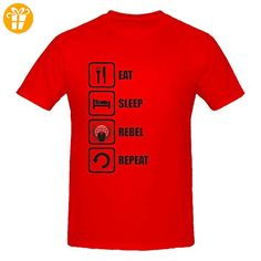Anonymous Inspired Eat Sleep Rebel Repeat Men's T-Shirt XX-Large (*Partner-Link)