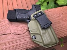 M&P Shield 9/40 IWB/AIWB Kydex Holster - Profile Holster