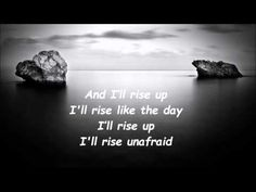 Andra Day Rise up Lyrics video