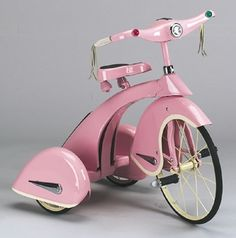 Sky King Trike - Princess Pink [I would have KILLED for this as a kid] [bicycle, tricycle] Vintage Pink, Vintage Toys, Vintage Bikes, Pink Lady, Pimp Your Bike, My Favorite Color, My Favorite Things, Little Presents, Girly