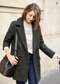 Snowy Winter Look · steffy's pros + cons Look Fashion, Womens Fashion, Fashion Trends, My Tights, Stylish Winter Outfits, Casual Winter, Looks Jeans, Mode Plus, Winter Looks