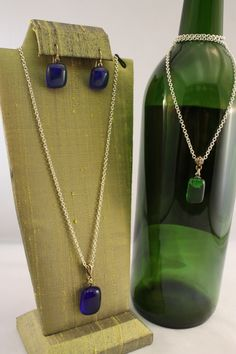 Jewelry made from wine bottles!