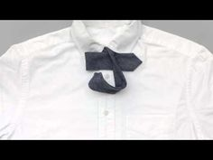 Stop Motion Animation Shows How to Tie a Bow Tie