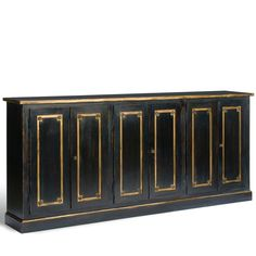*Long French Louis Sideboard - French Country - multiple finishes available | BelleEscape.com