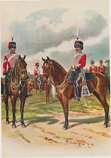 Arnhem Jim: Yeomanry Regiments of the British Army circa 1900 by Richard Simkin