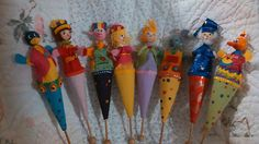 Lot of 8 Assorted Ice Cream Cone Puppets Awesome and RARE Adult Owned | eBay