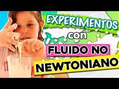 FLUIDO no NEWTONIANO: ¿Sólido o líquido? * EXPERIMENTOS caseros para niños - YouTube