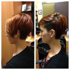 Vogue Short Hairstyles: Cute Ombre Haircut