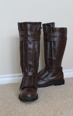 DIY jedi boots - SW Costumes Robes, Belts etc... - FX-Sabers.com