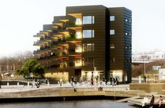 2 Social Housing, Arch, Multi Story Building, Google, Longbow, Wedding Arches, Bow, Arches, Belt
