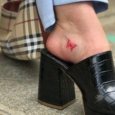 Red Ink Tattoos, Subtle Tattoos, Simplistic Tattoos, Dainty Tattoos, Dope Tattoos, Mini Tattoos, Body Art Tattoos, Tatoos, Cute Tiny Tattoos