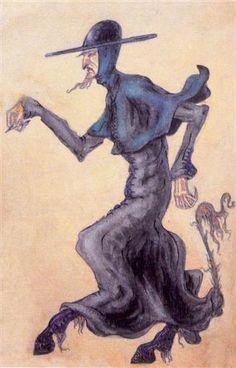 Pater-devil - Nikolái Roerich
