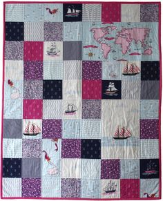 sarah jane out to sea quilt - Google Search