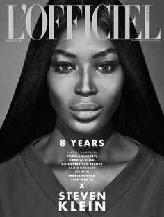 Naomi Campbell by Steven Klein for L'Officiel Singapore, March 2015