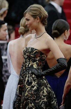 Karlie Kloss - Red Carpet Arrivals at the Met Gala