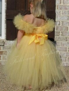 Custom Belle Tutu Dress listing for Ely by FrillsandFireflies