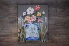 Hand painted by Elise Winter